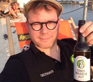 Philipp Overberg of Gruthaus Brewing