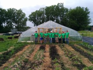 FINNEGANS, helping get fresh produce to people in need